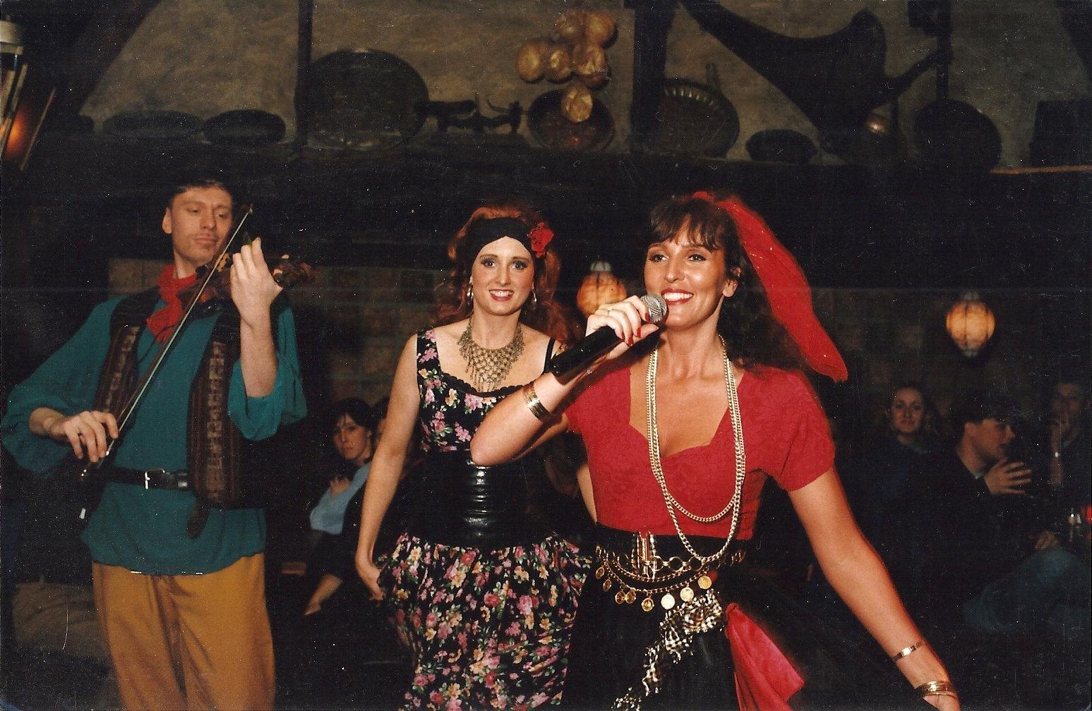 voor de eerste maal optreden, party Company 1991